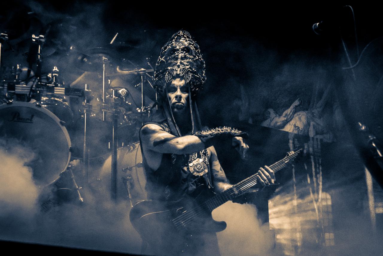 """Adam """"Nergal"""" Darski / Behemoth </br> @AccorHotels Arena"""