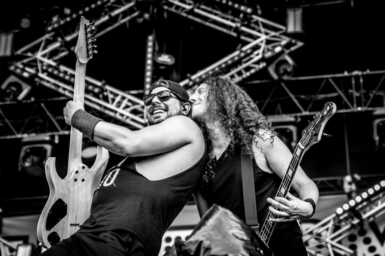 Máté Bodor & Gareth Murdock / Alestorm </br> @Download Festival France