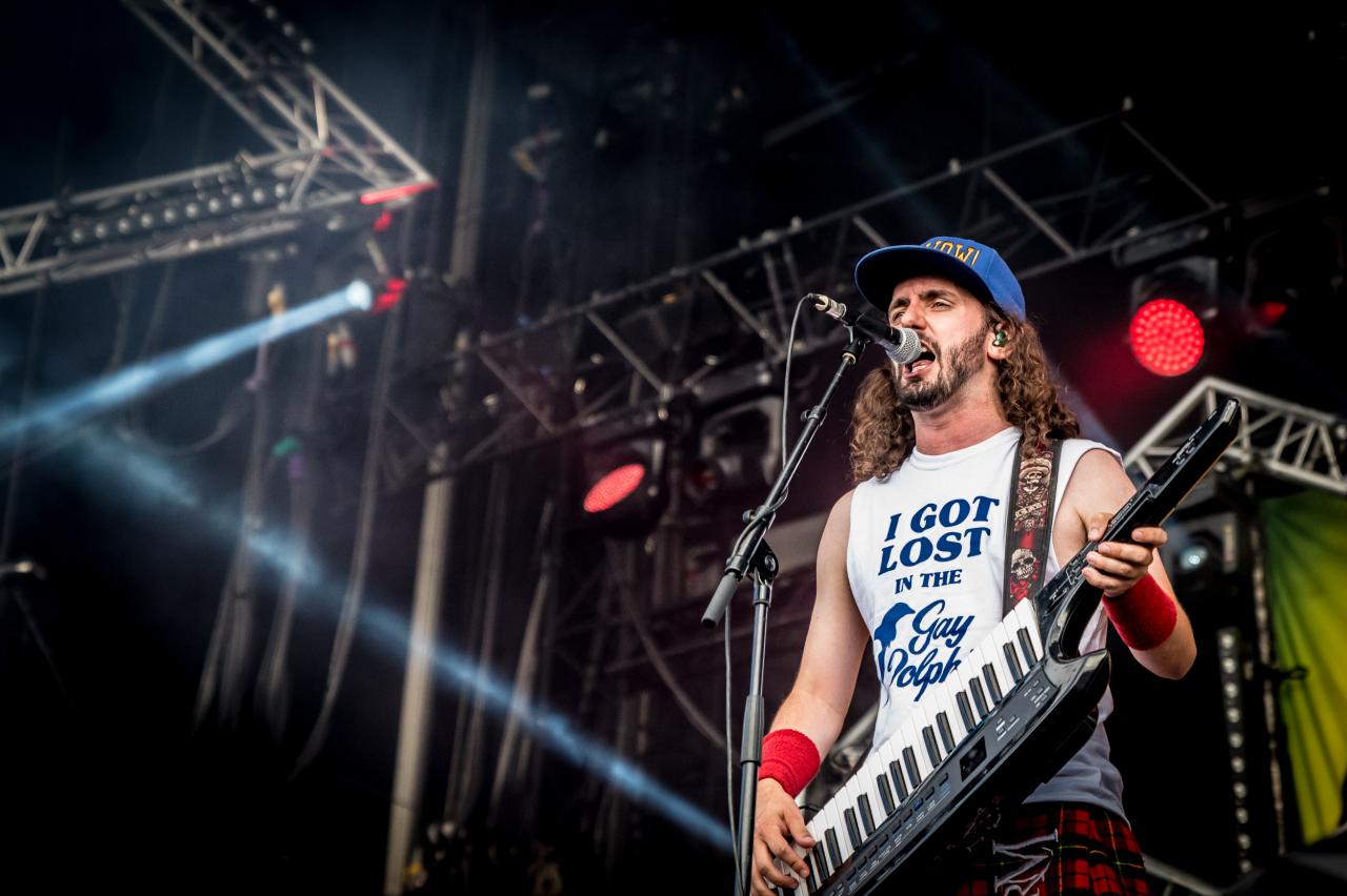 Christopher Bowes / Alestorm </br> @Download Festival France