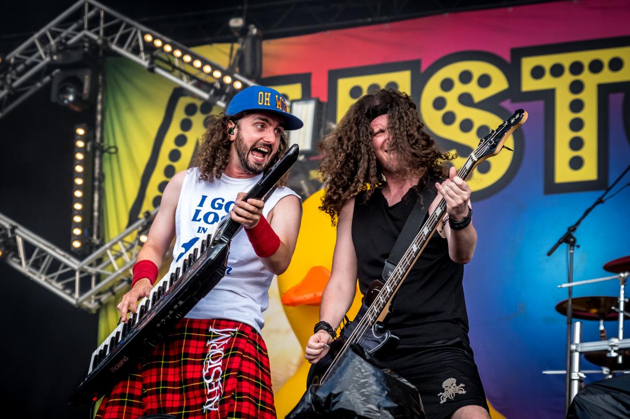 Christopher Bowes & Gareth Murdock / Alestorm </br> @Download Festival France