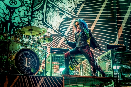 Alissa White-Gluz / Arch Enemy </br> @Zénith de Paris