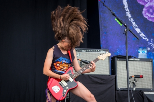 Gina Gleason / Baroness </br> @Download Festival France