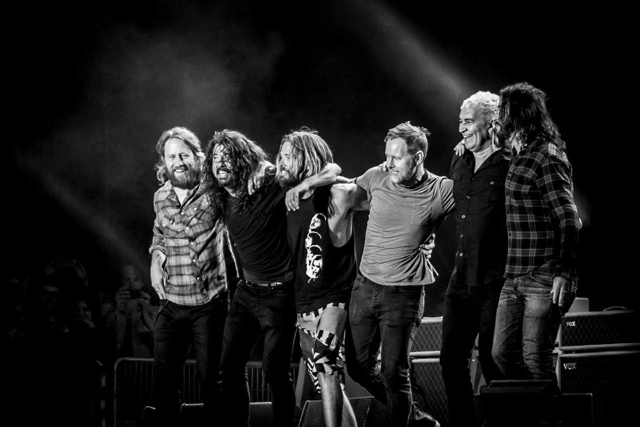 Foo Fighters </br> @Download Festival France