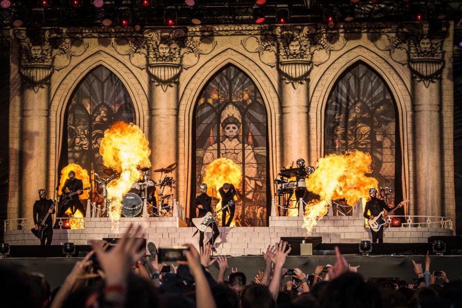 Ghost </br> @Download Festival France