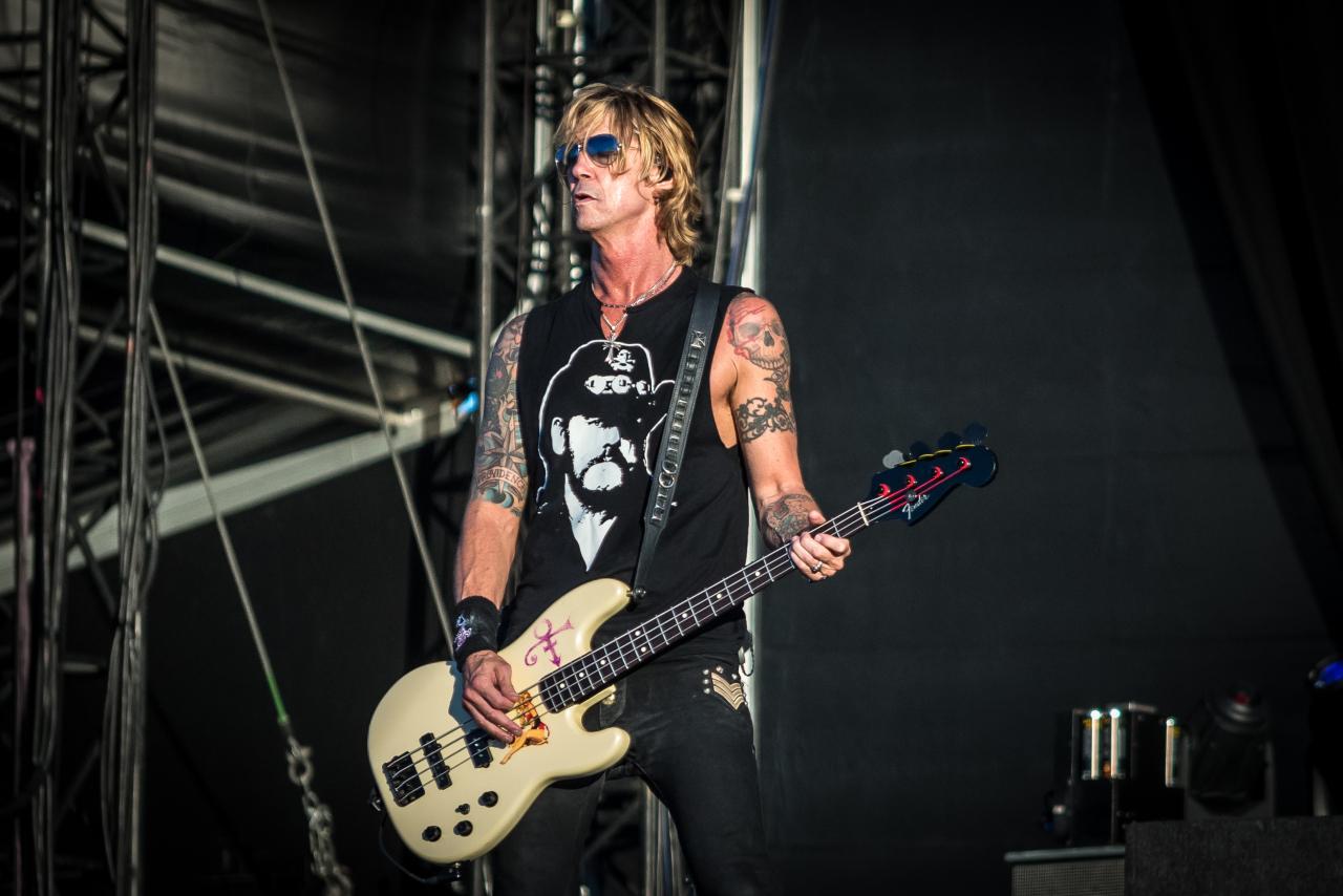 Duff McKagan  / Guns 'N' Roses </bf> @Download Festival France