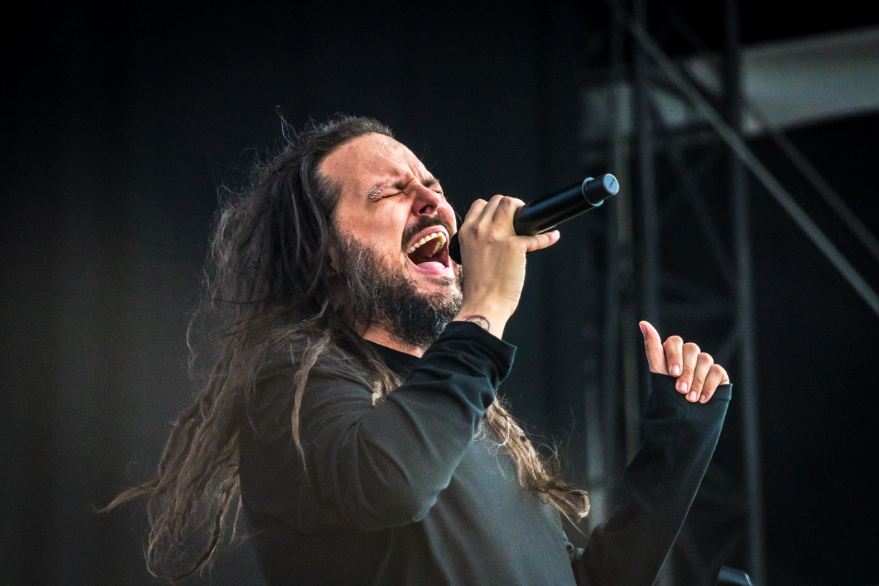 Jonathan Davis </br> @Download Festival France