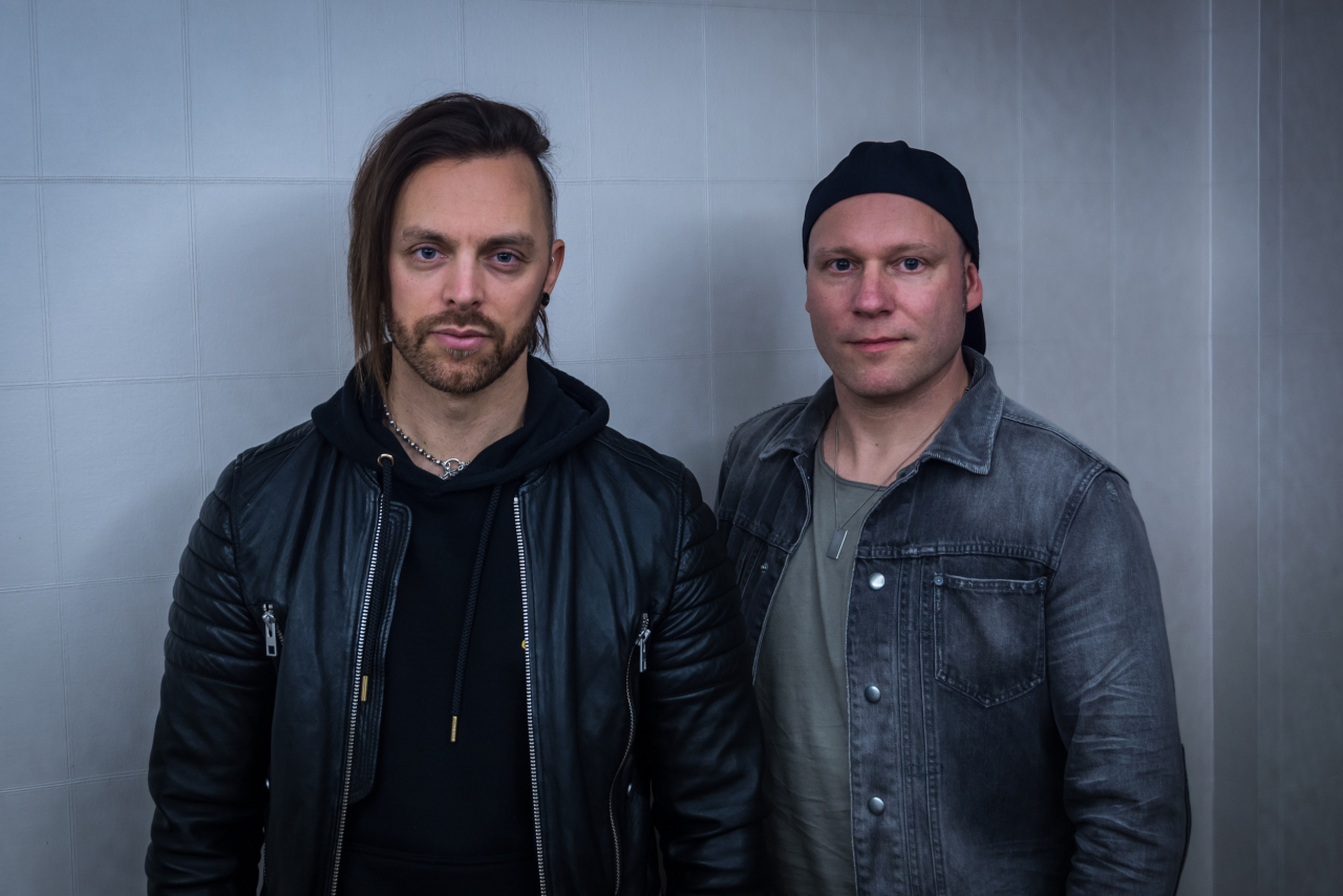 Matthew Tuck & Jason Bowld / Bullet For My Valentine </br> Shooting promotion
