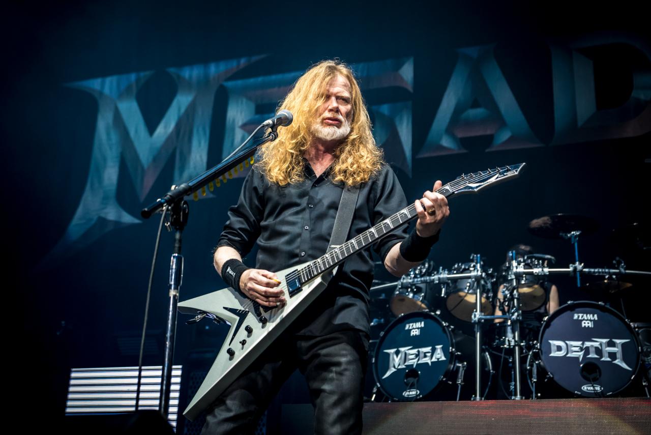 Dave Mustaine / Megadeth </br> @Zénith de Paris