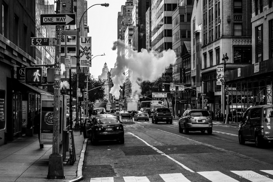 Smoky Street </br> Manhattan - New York