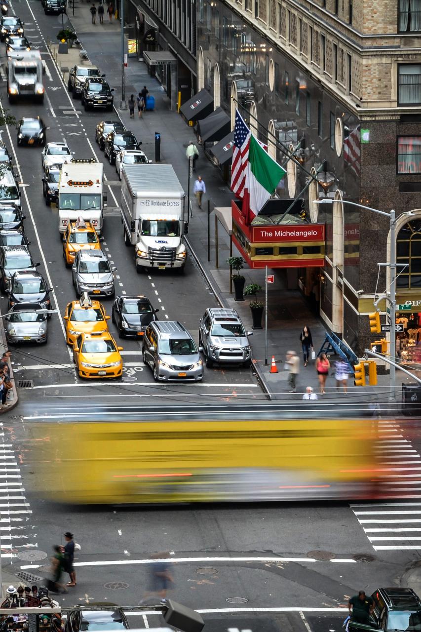Blurry Bus / New York