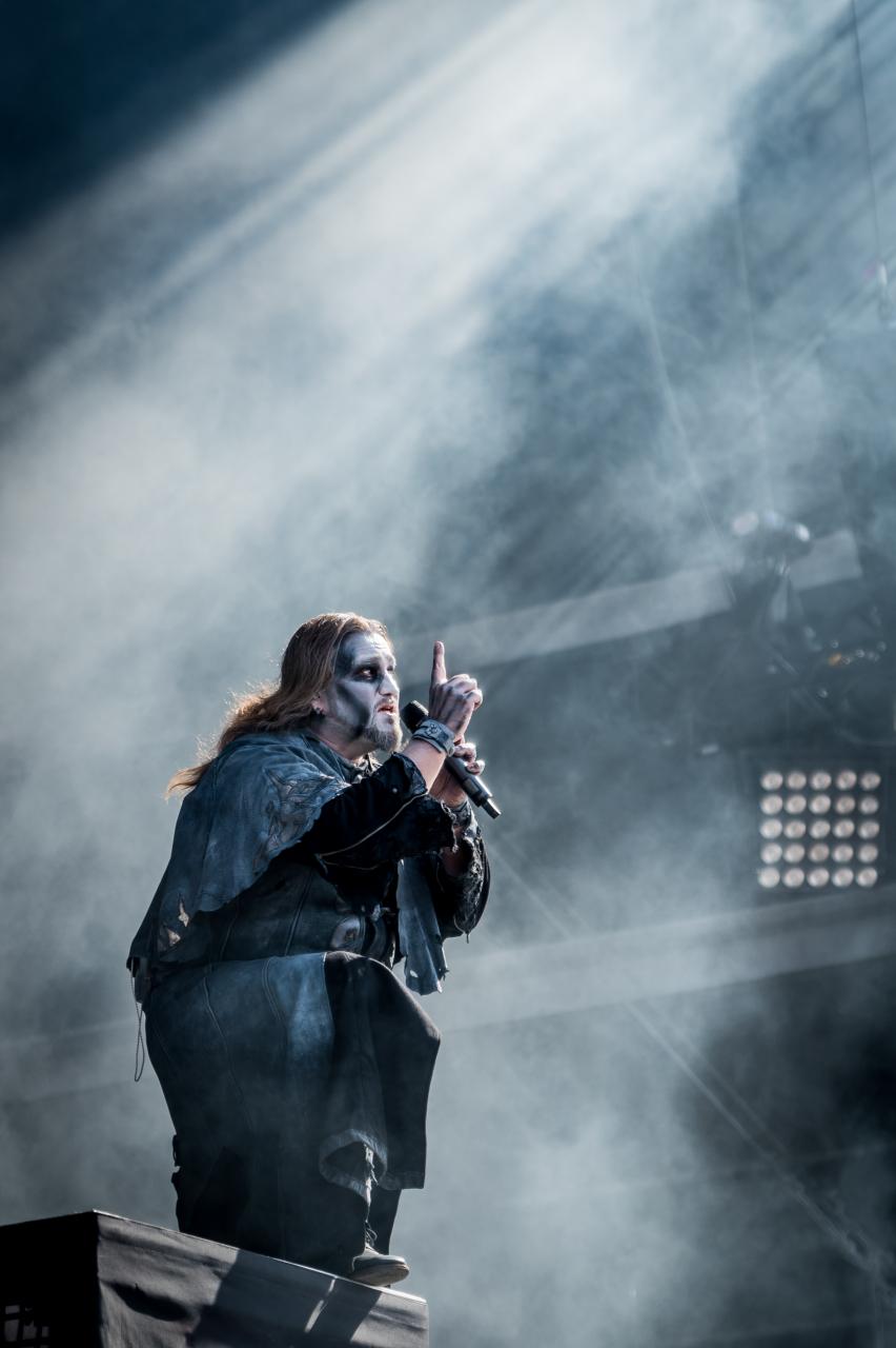 Attila Dorn / Powerwolf </br> @Download Festival France