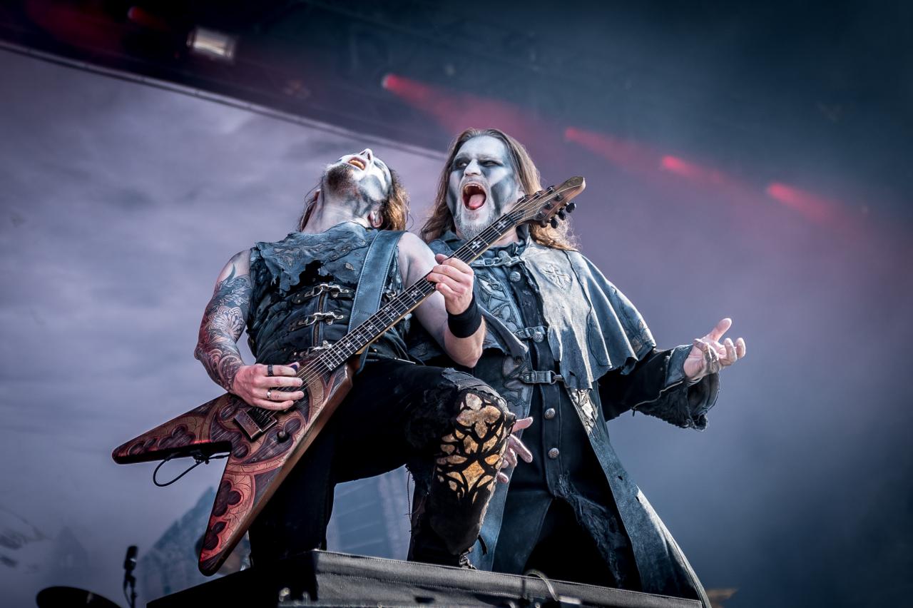 Attila Dorn & Matthew Greywolf / Powerwolf </br> @Download Festival France
