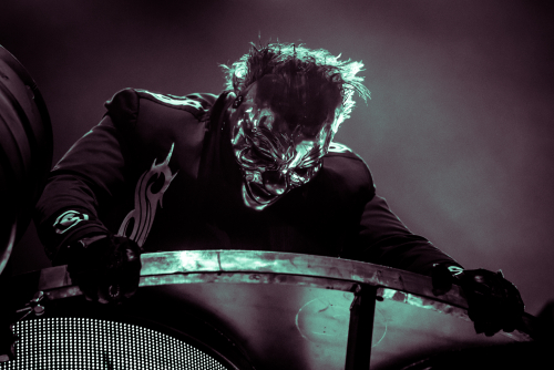 "(#6) Shawn ""Clown"" Crahan / Slipknot </br>@AccorHotels Arena"